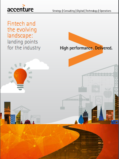 Accenture Publishes Report on the State of Global Fintech Investments