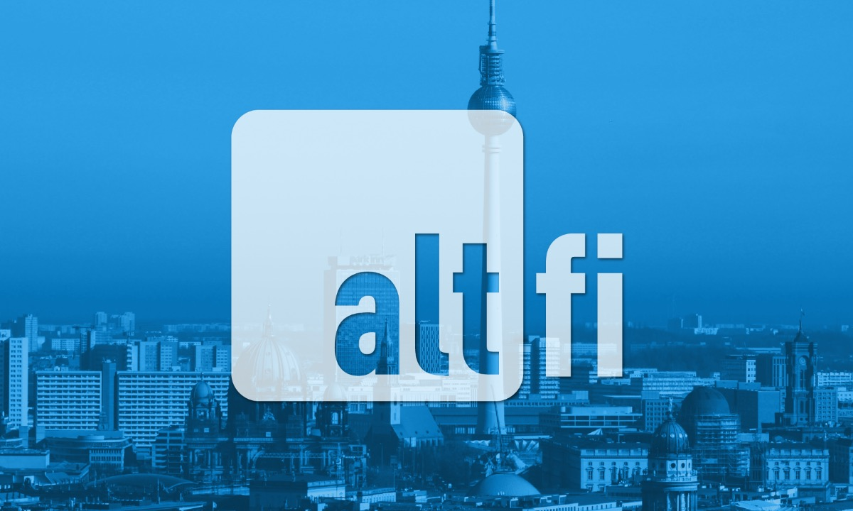 AltFi Berlin Summit 2019 Early Bird Tickets end soon!