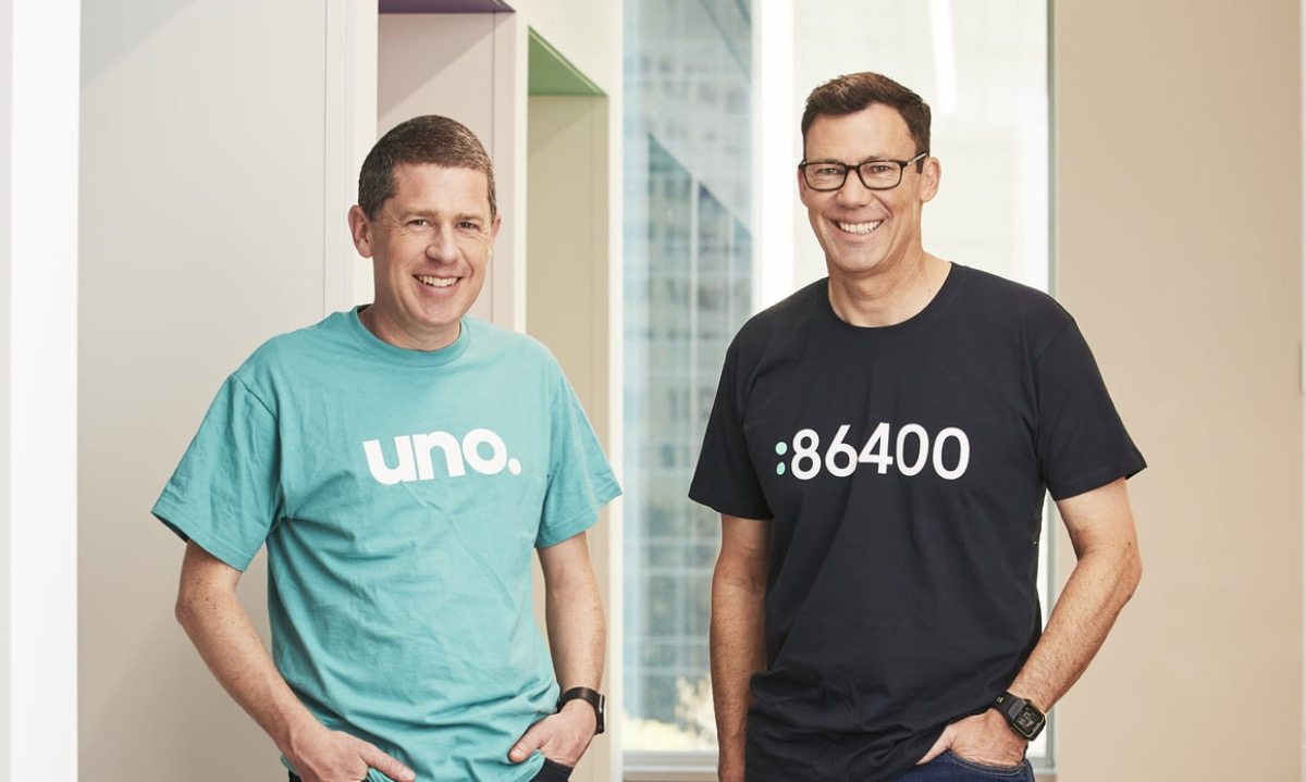 Australian challenger 86 400 adds its home mortgages to online broker Uno