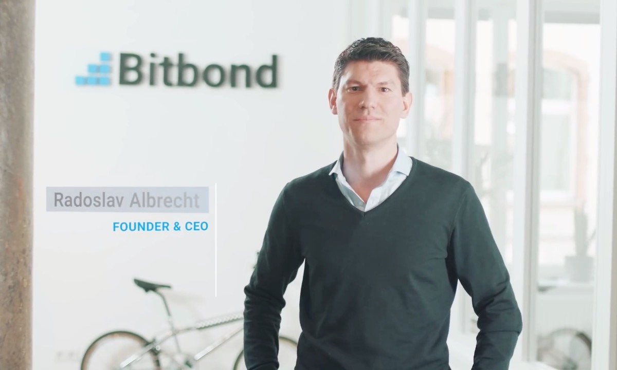 Blockchain lender Bitbond signs bank deal
