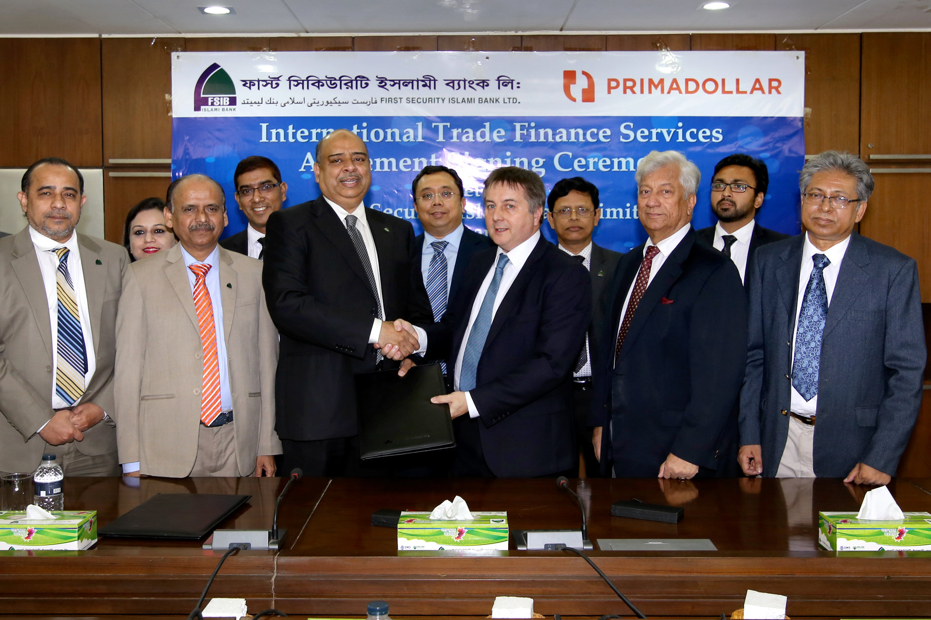 British trade finance firm strikes deal with Bangladeshi bank