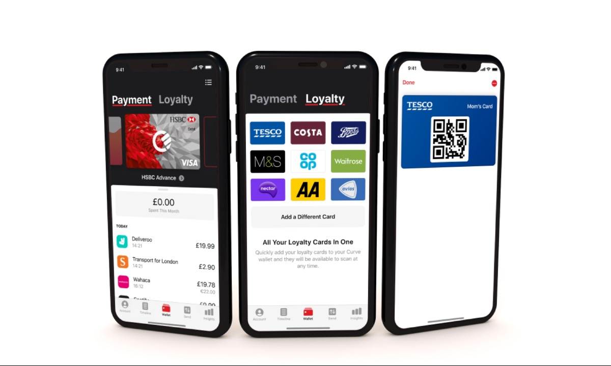 Curve expands its all-in-one service to include loyalty cards