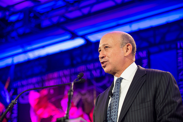 Goldman Sachs CEO says its online lender has already hit $1bn mark