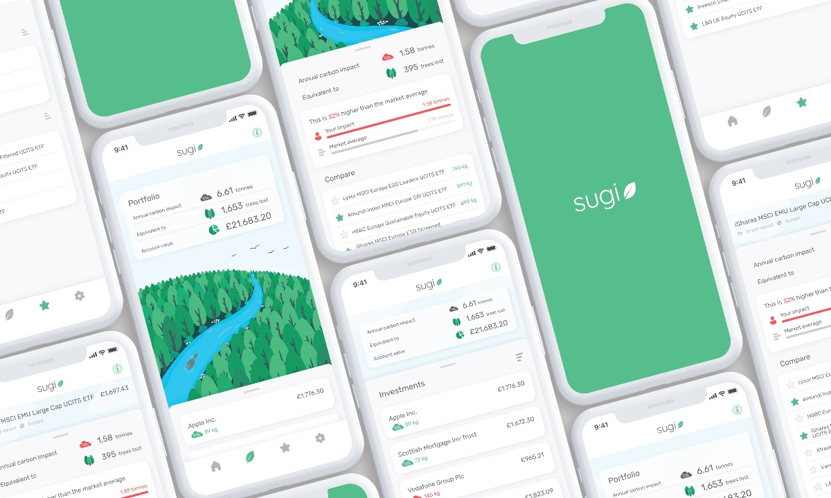 Green investments? Sugi's app will help investors double-check their portfolios