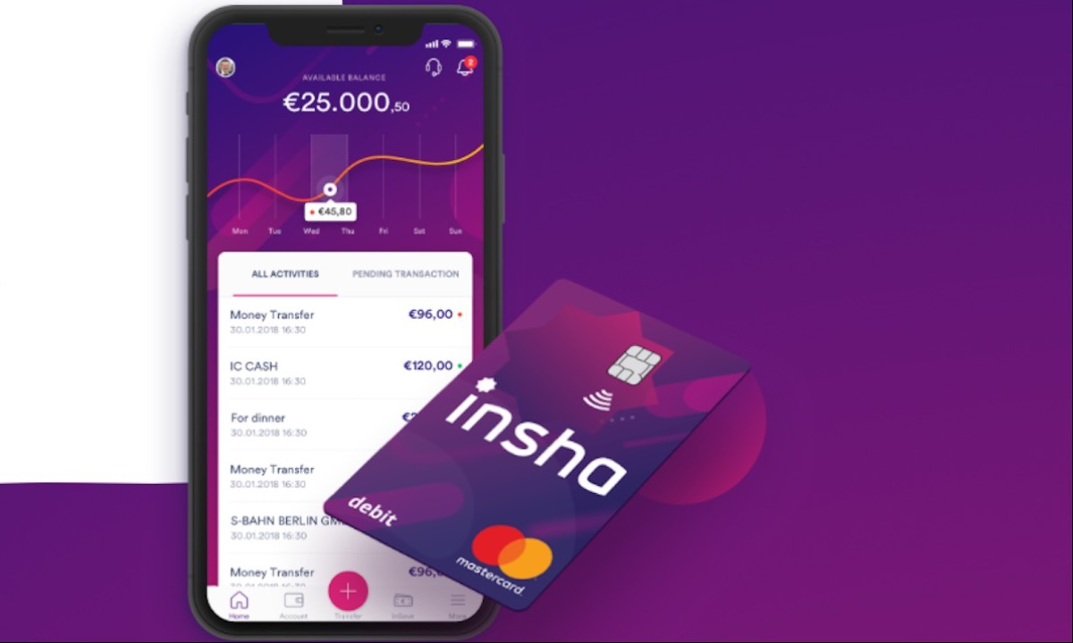 Insha launches digital Islamic challenger bank in Germany