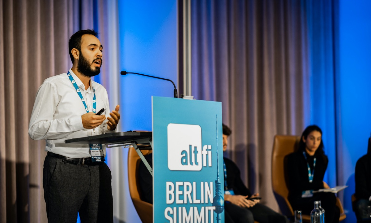 Insha takes the crown at AltFi Berlin Pitch Off