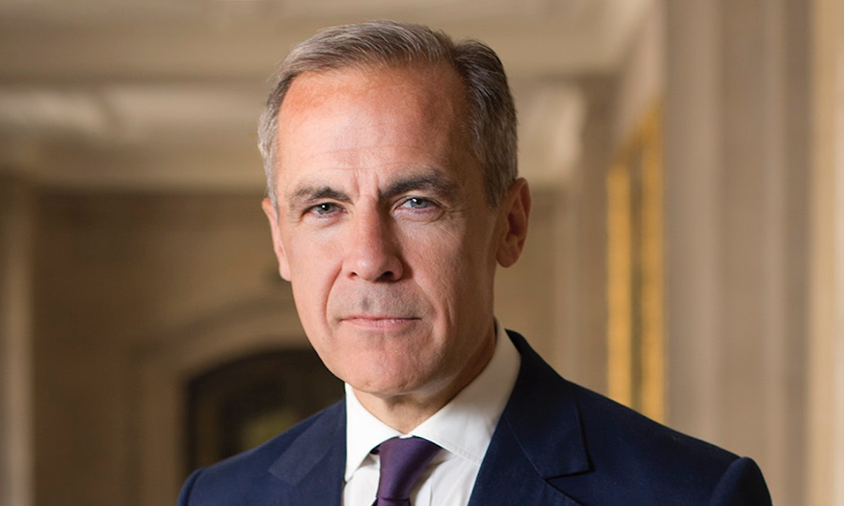 "Mark Carney previews ""new Bank of England"" moves to support fintech"