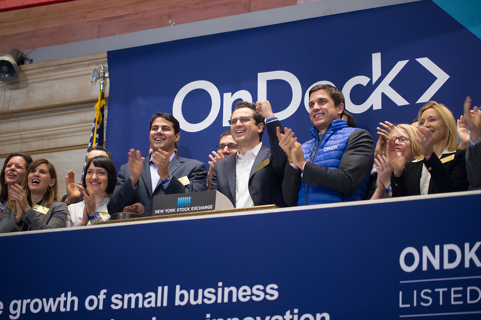 Marketplace Sales Uptick for OnDeck