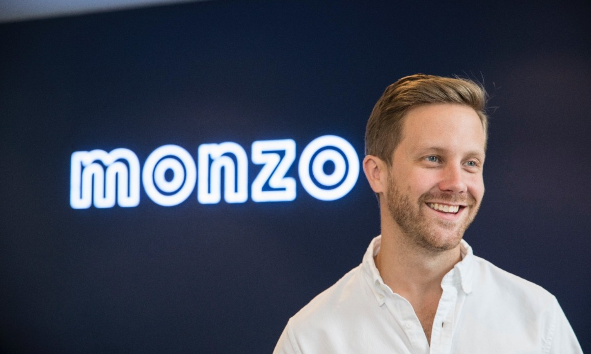 Monzo CEO  and founder Tom Blomfield to step down