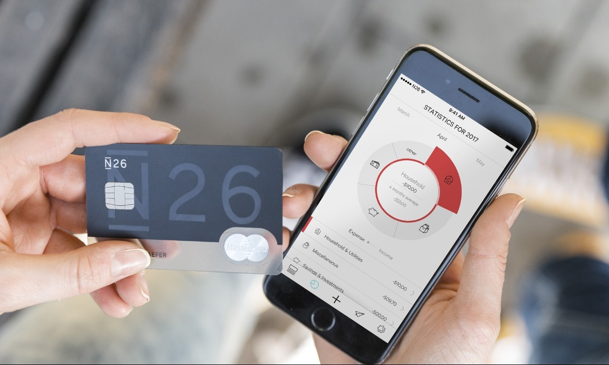 Neo-bank N26 launches in the UK