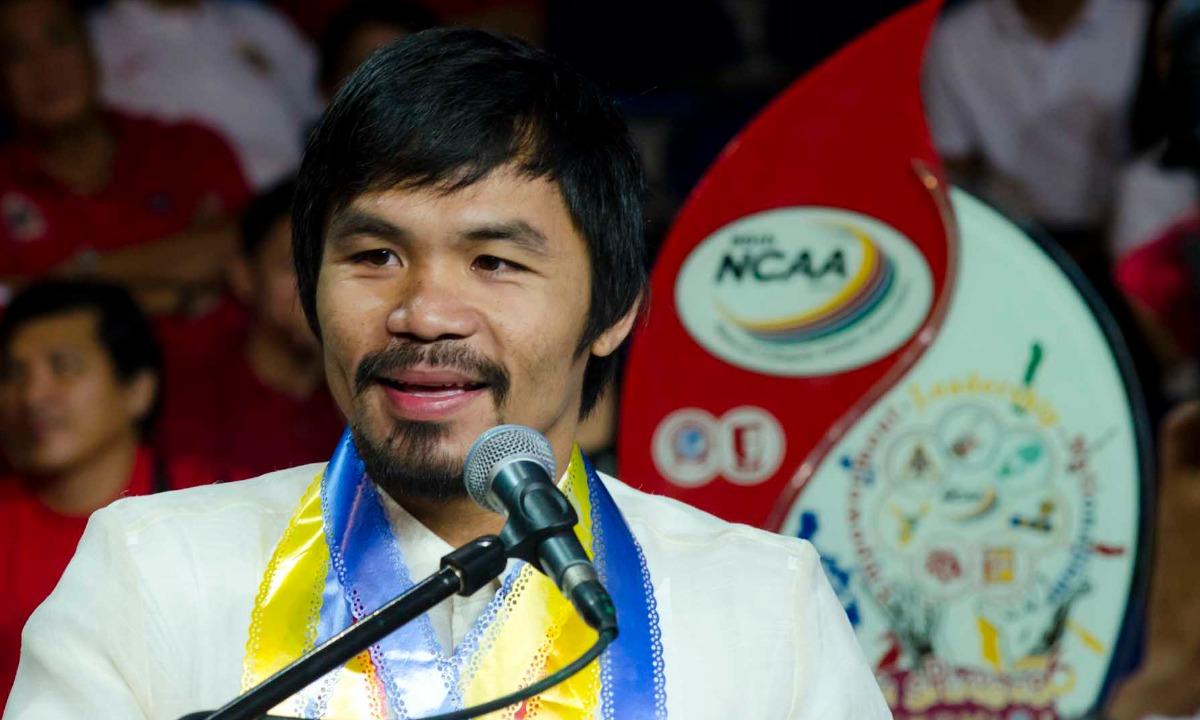 Not pulling any punches: Manny Pacquiao swaps boxing gloves for fintech