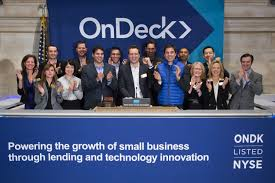 OnDeck's First Day Trading