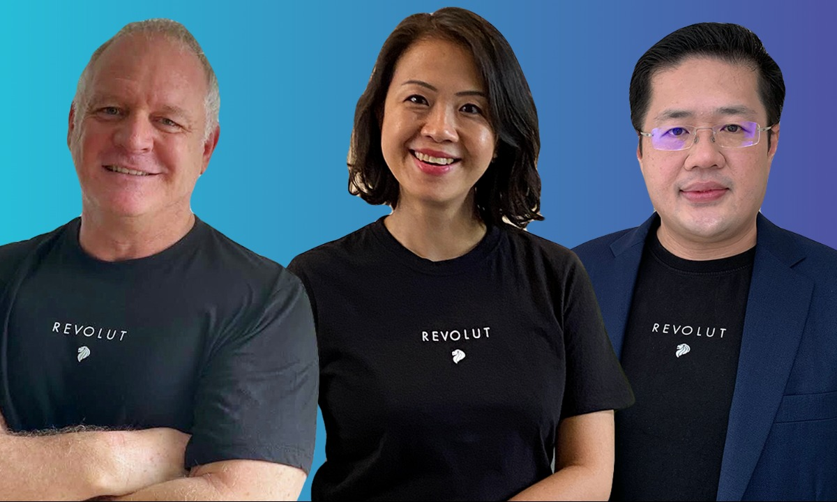 Revolut bolsters leadership team in Singapore with three new hires, including its first CEO
