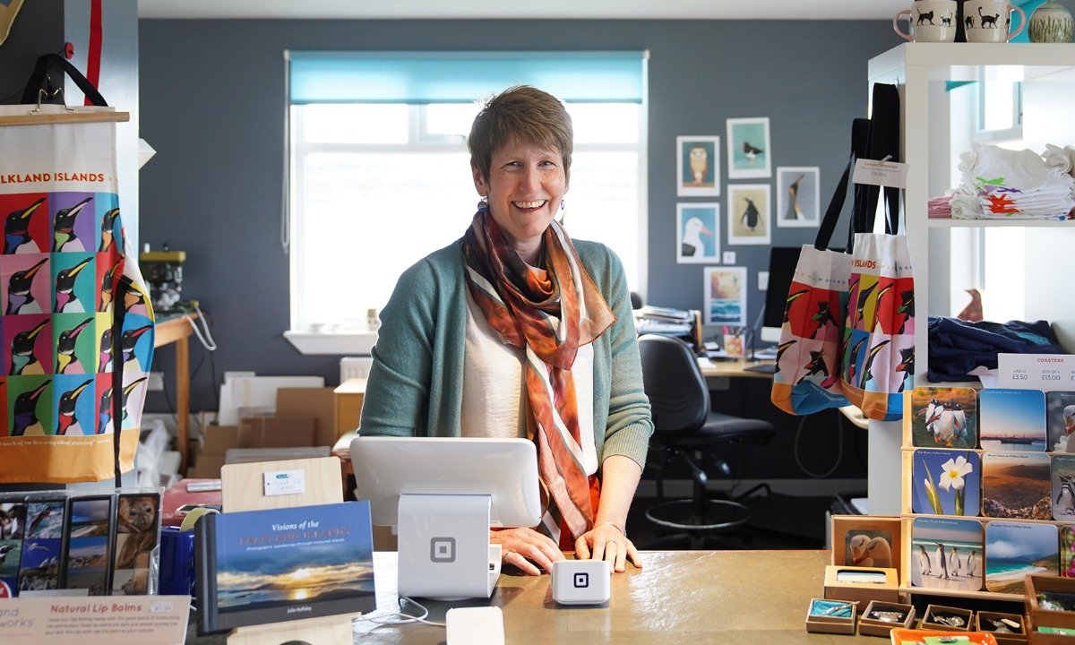 Square launches in the Falkland Islands with the help of Mastercard