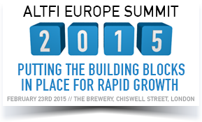 The AltFi Europe Summit 2015 is Just Around the Corner!