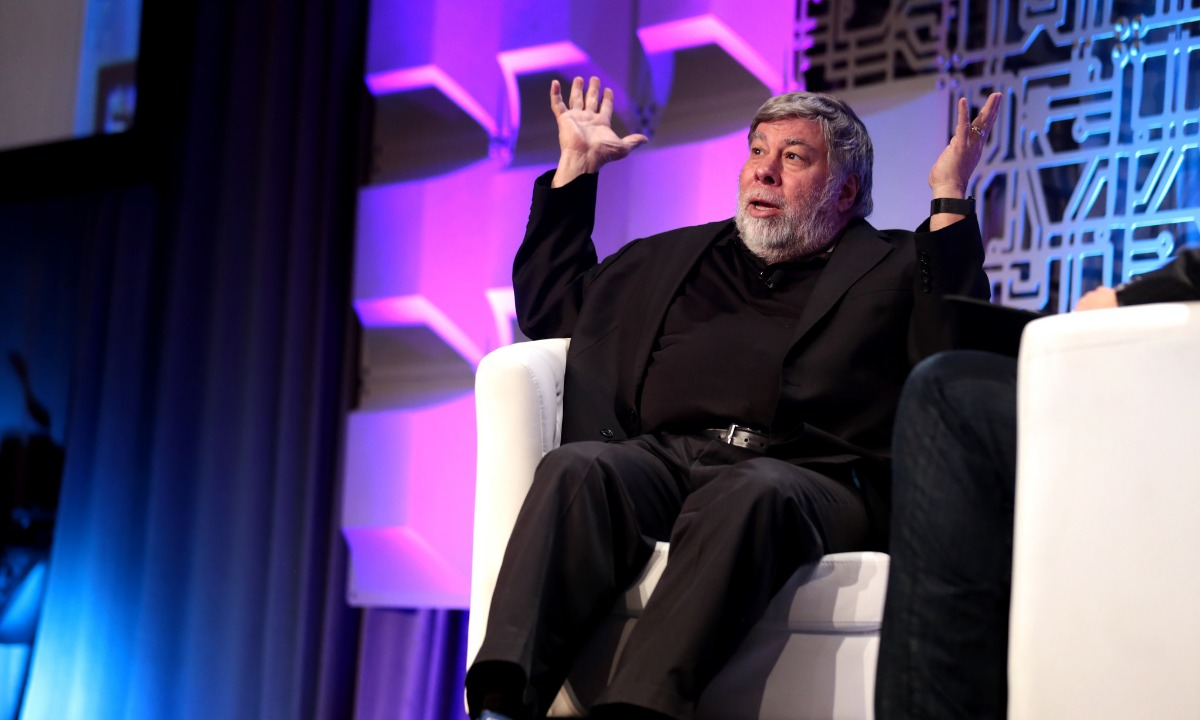 The Woz: Blockchain might be a bubble, but it's on the right track