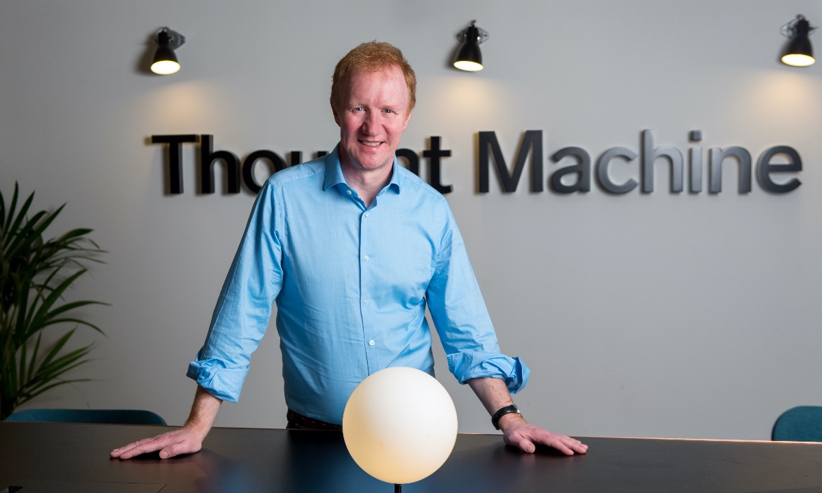 Thought Machine's Paul Taylor: 'Events like this will push banking into the cloud'