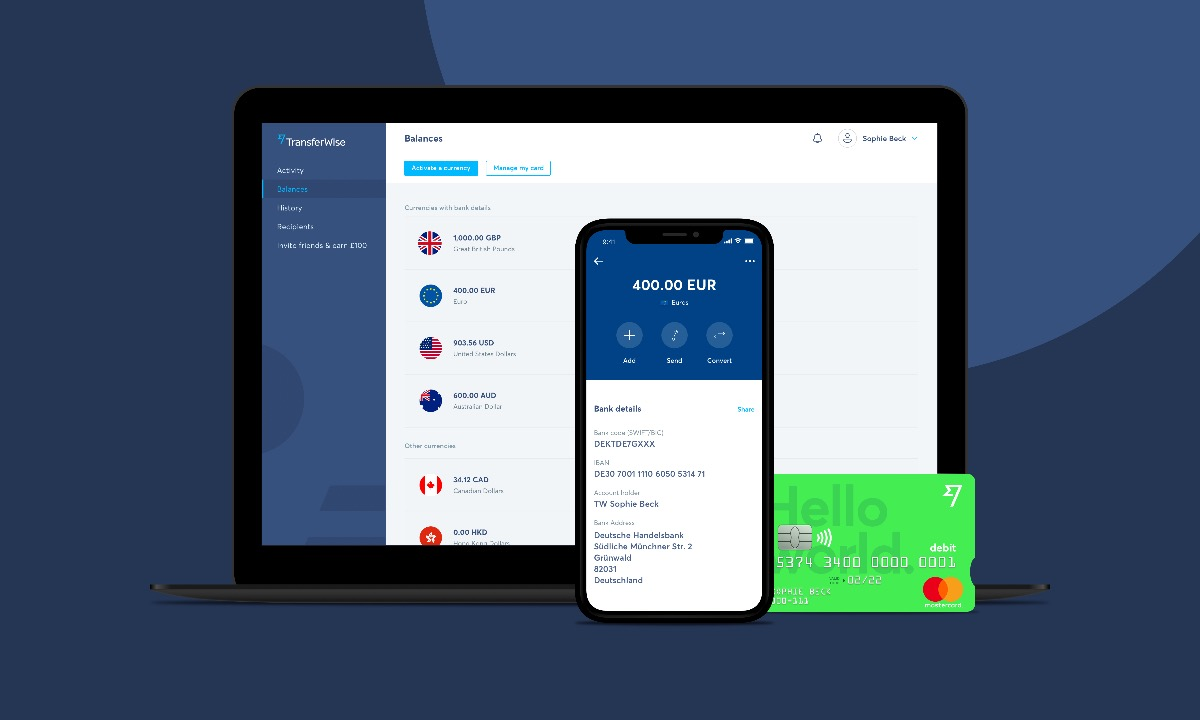 TransferWise heads down under with Australian and New Zealand debit card launches