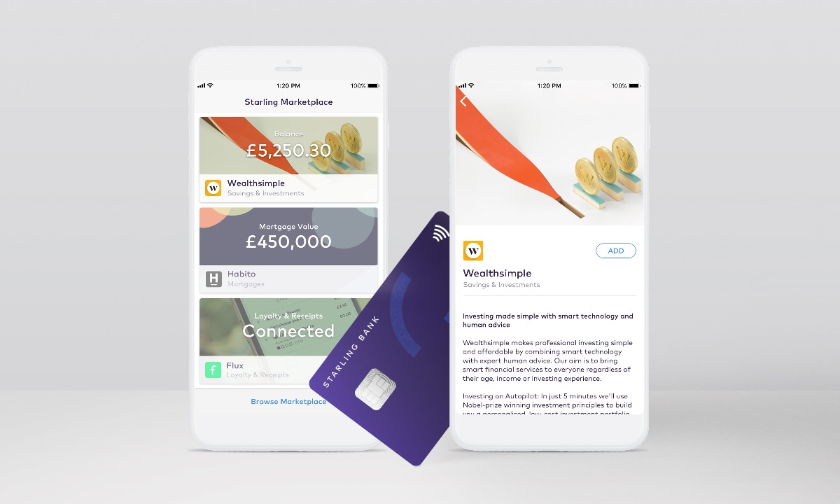 Wealthsimple and Habito go live in Starling Bank marketplace