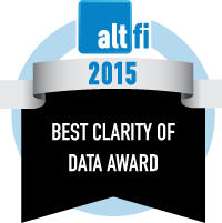 Best Clarity of Data Award 2015