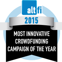 Most Innovative Crowdfunding Campaign of the Year 2015