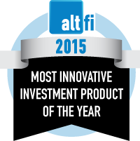 Most innovative Investment Product of the Year 2015