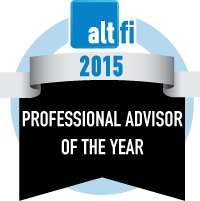 Professional Advisor of the Year 2015