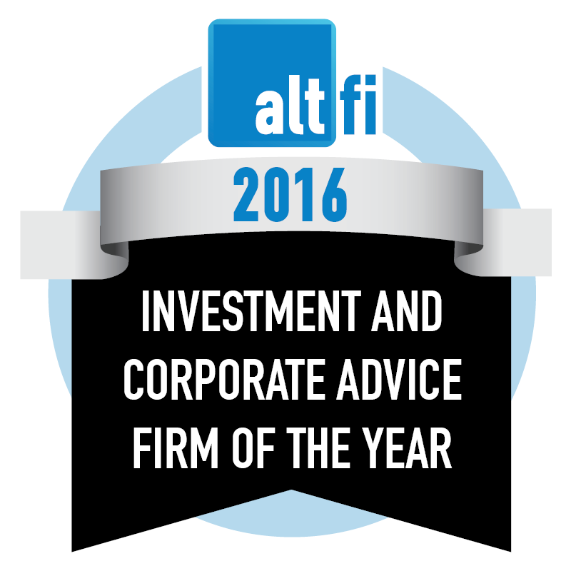 Investment And Corporate Advice Firm Of The Year