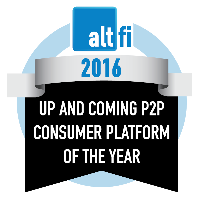 Up And Coming P2P Consumer Platform Of The Year