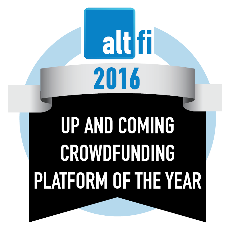 Up And Coming Crowdfunding Platform Of The Year