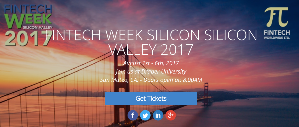 FINTECH WEEK SILICON VALLEY 2017